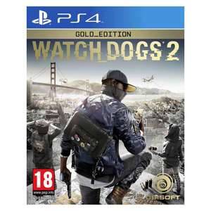 Watch Dogs 2 Gold Edition (PS4) voor €9,95 @ Wehkamp