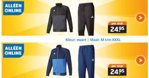 Online only deal Adidas Jack of broek@Trekpleister