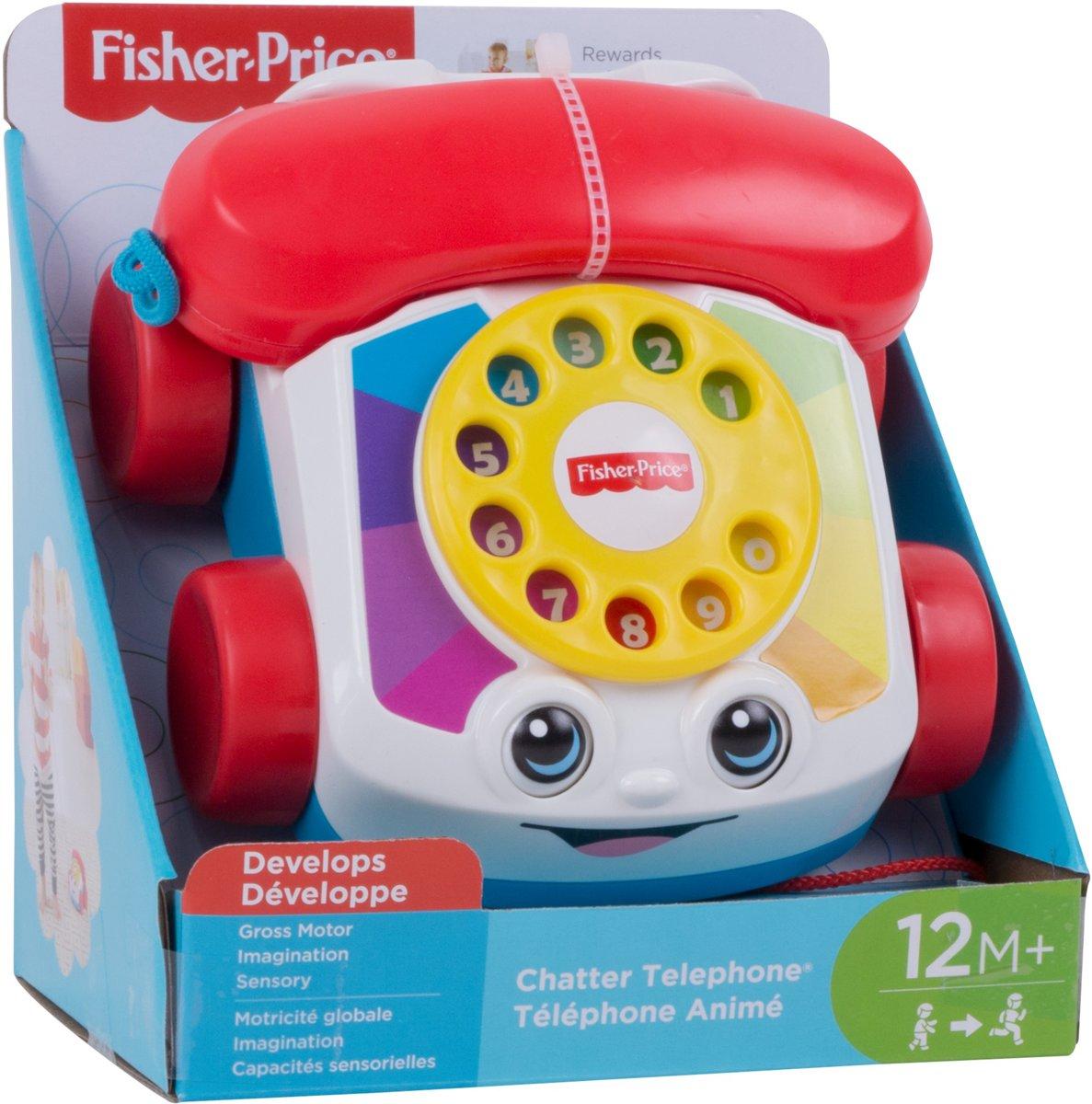 Fisher-Price Speelgoedtelefoon voor €3,99 @ Trekpleister