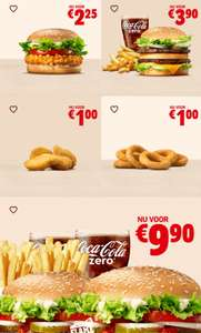 Crispy Chicken, Big King Menu en meer kortingcoupons @ Burger King App