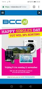 Happy singles Day! Tot 30% korting