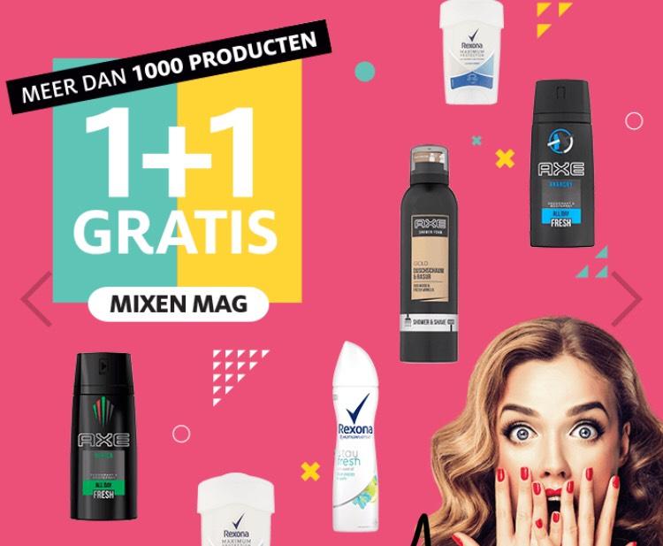 1+1 gratis op meer dan 1000 producten! || Etos