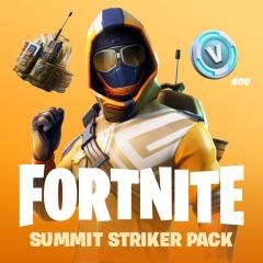 Fortnite Battle Royale - Het Summit Striker Pack + 600 V-Bucks € 4,99  PS4