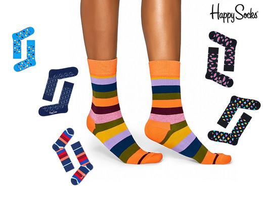 6 paar Happy Socks voor 24,95