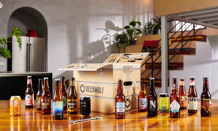 16 ambachtelijke & speciale bieren van BeerWulf @ Groupon
