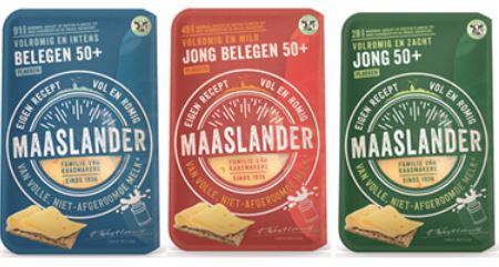 [Regionaal] Probeer gratis Maaslander 50+ kaasplakken @ Maaslander