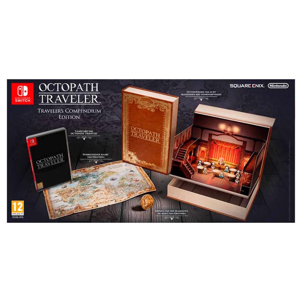 Nintendo Switch Octopath Traveler Compendium Collectors Edition voor €69,95