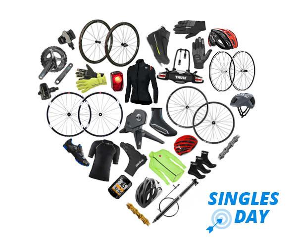 Singles Day bij Mantel: elk uur superaanbiedingen op fietsen, fietskleding, fietsonderdelen