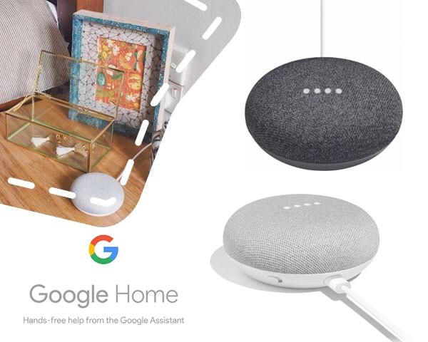 Google Home mini slimme speaker