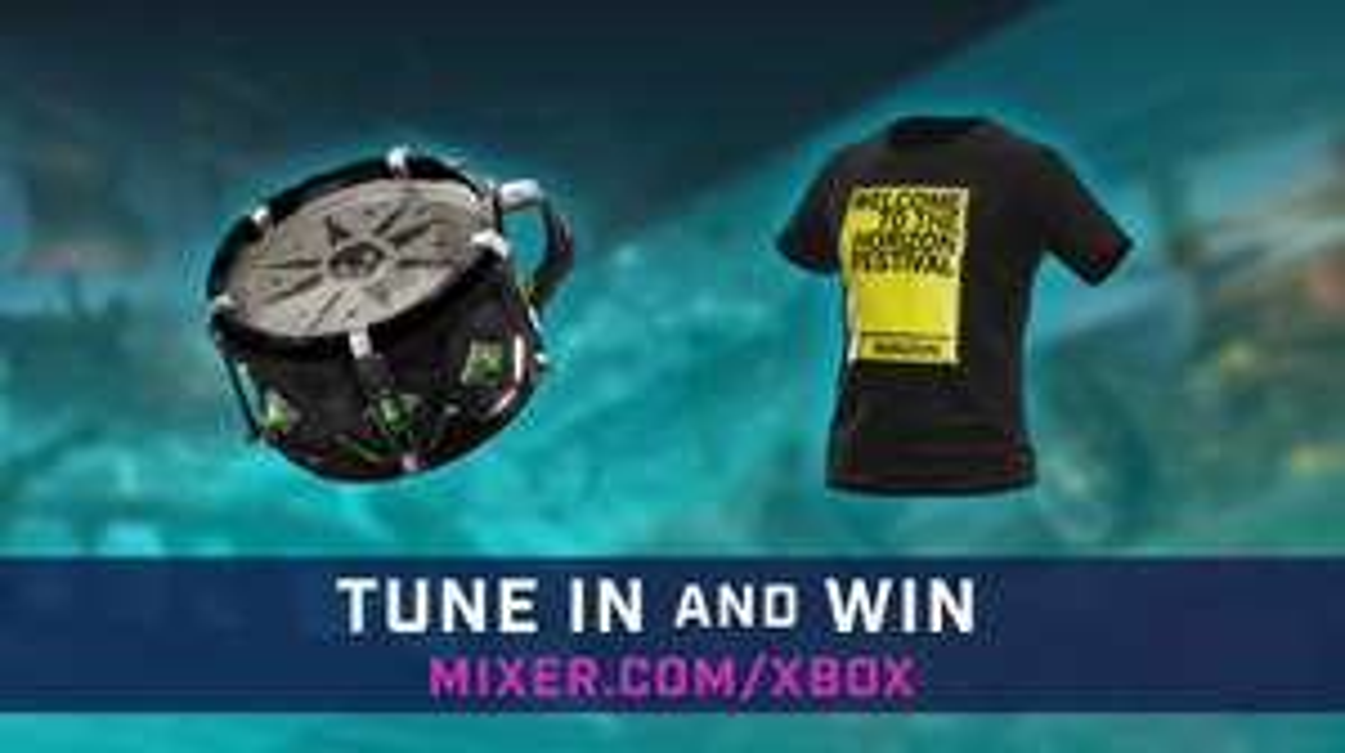 Gratis in-game content voor Sea of Thieves en Forza Motorsport @ Mixer