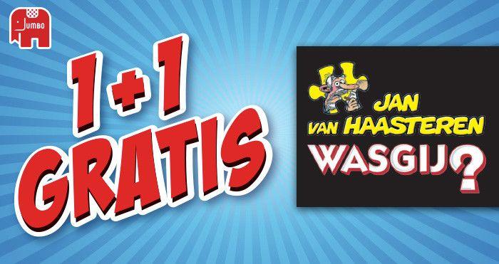 Was Gij en Jan van Haasteren 1+1 gratis