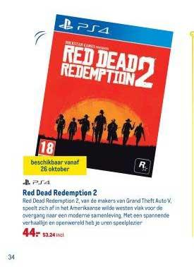 Red dead redemption voor 53,24 bij Makro Delft