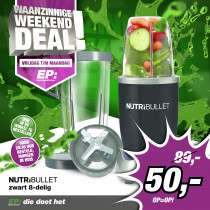Nutribullets 600 blender 8-delig voor €50 @ Ep.nl