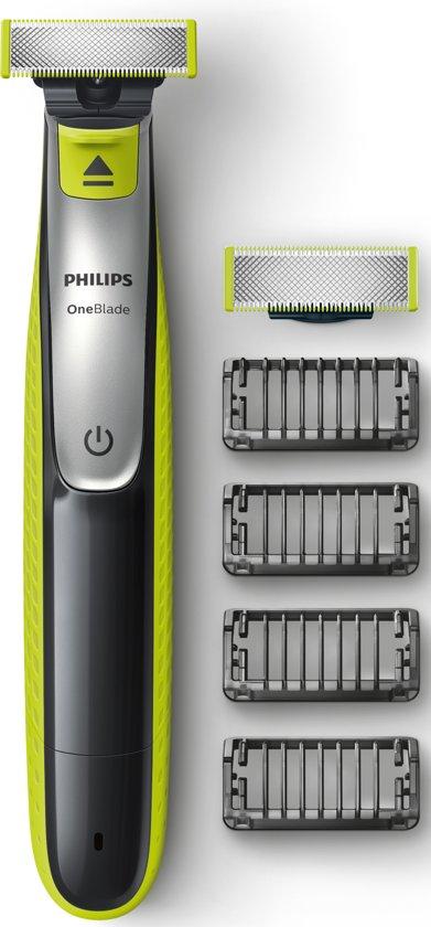 50% KORTING Philips OneBlade QP2530/30 - Trimmer, scheerapparaat en styler