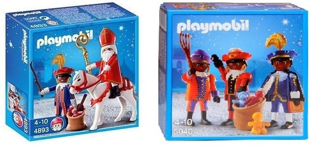 Playmobil Sinterklaas en Piet of Pakjespieten voor €7.99 bij Kruidvat