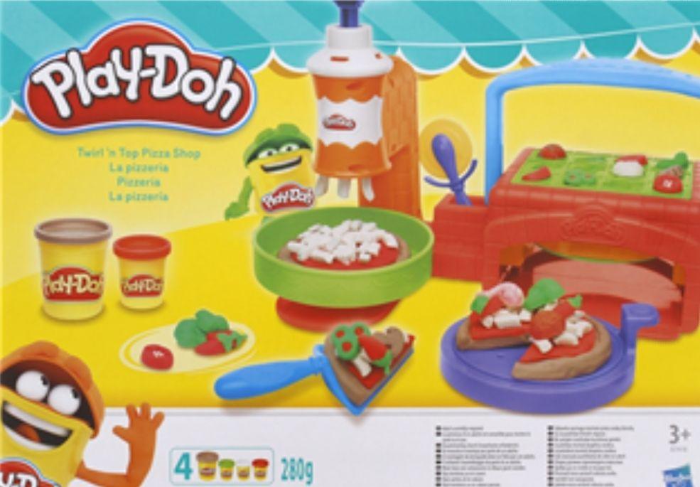 Play-Doh pizzeria en koekjesspeelset bij Action
