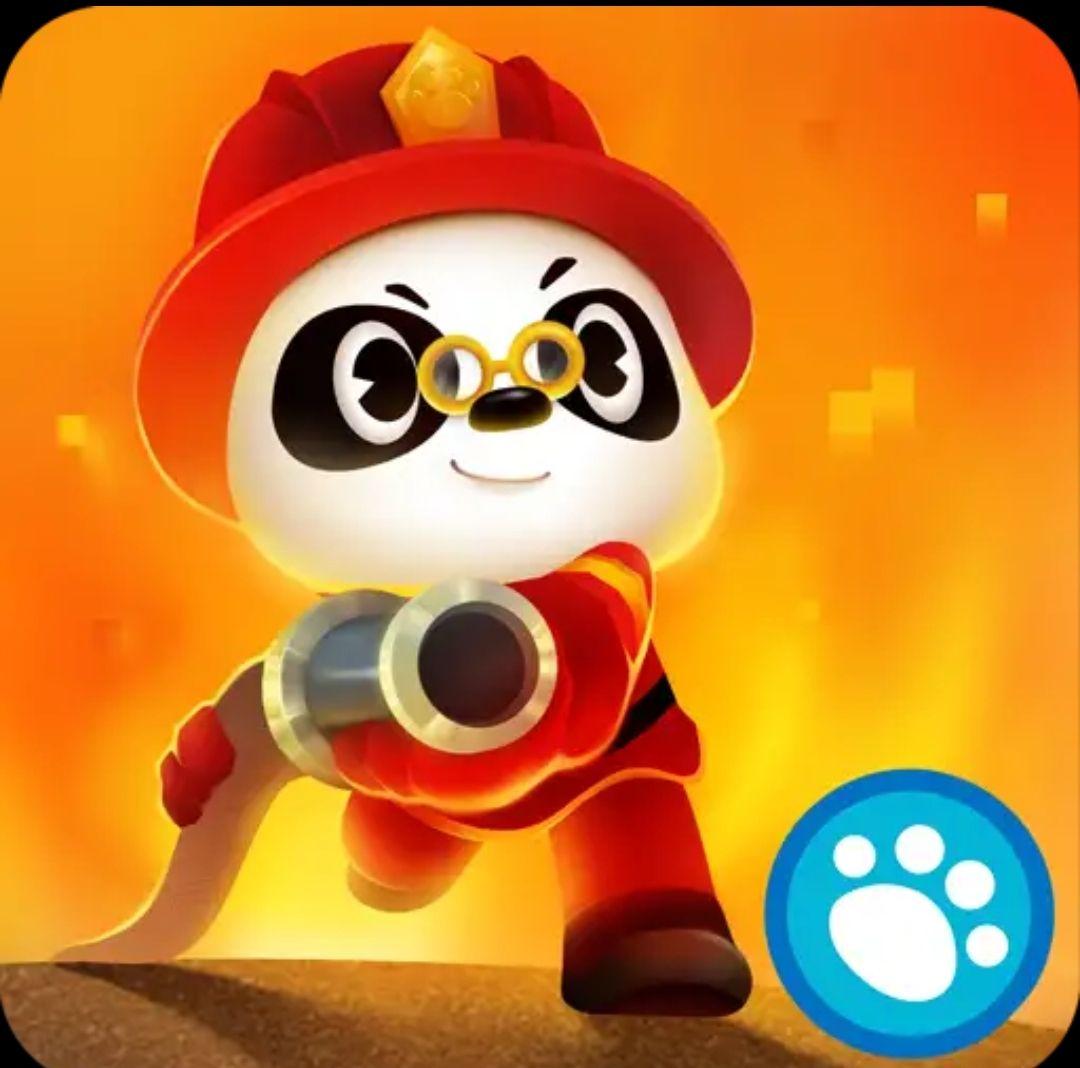 Dr panda brandweer nu gratis in google play store en in apple ios store!