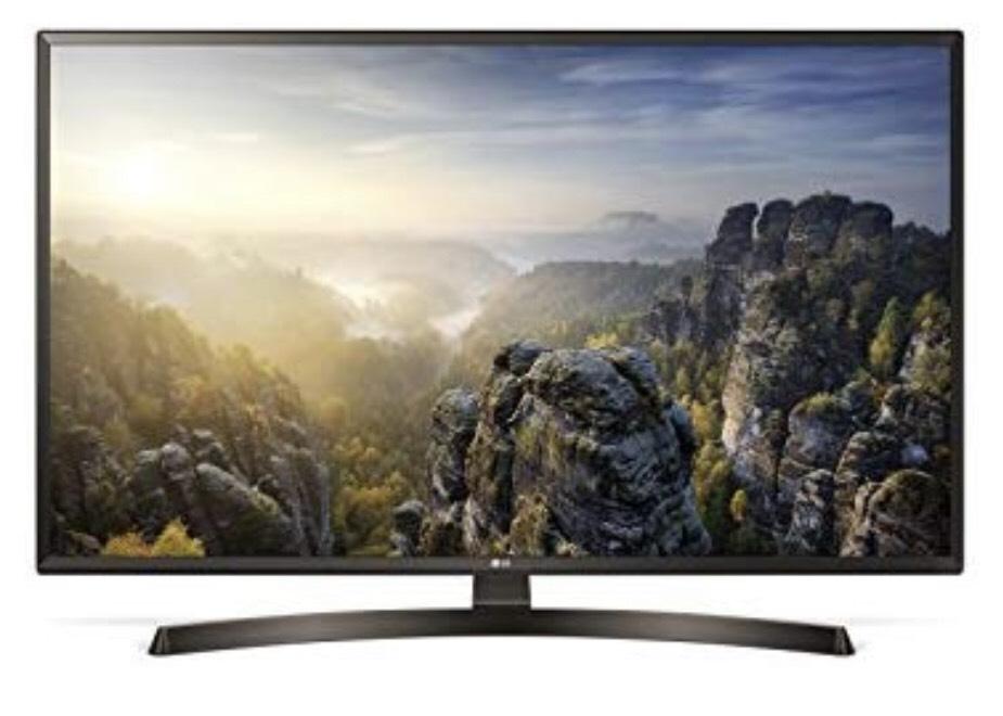 LG 49uk6400 (49 inch) TV (4K UHD, Triple Tuner, 4K Active HDR, Smart TV) @Amazon.de