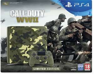 [Singles Day] PS4 Slim 1TB Camo Limited Edition - CoD: WWII voor €294 @ Bol.com