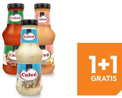 Calvé Sauzen 1 + 1 gratis @ Blokker