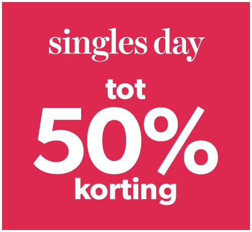 Wehkamp singlesday - tot 50% (en zelfs meer) korting op veel artikelen