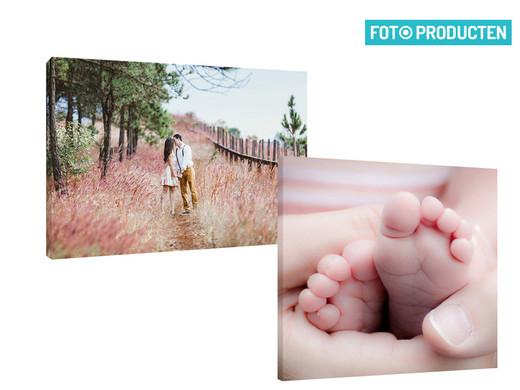 Canvasdoek 50x50 of 40x60 voor € 9,95