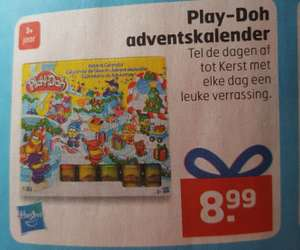 Play-Doh adventskalender @ Trekpleister
