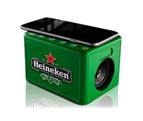 Gratis Speakerkratje bij aankoop van een 8-pack blik @ Heineken