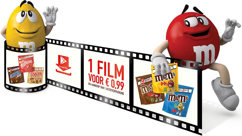 Google play movie voor 1 euro