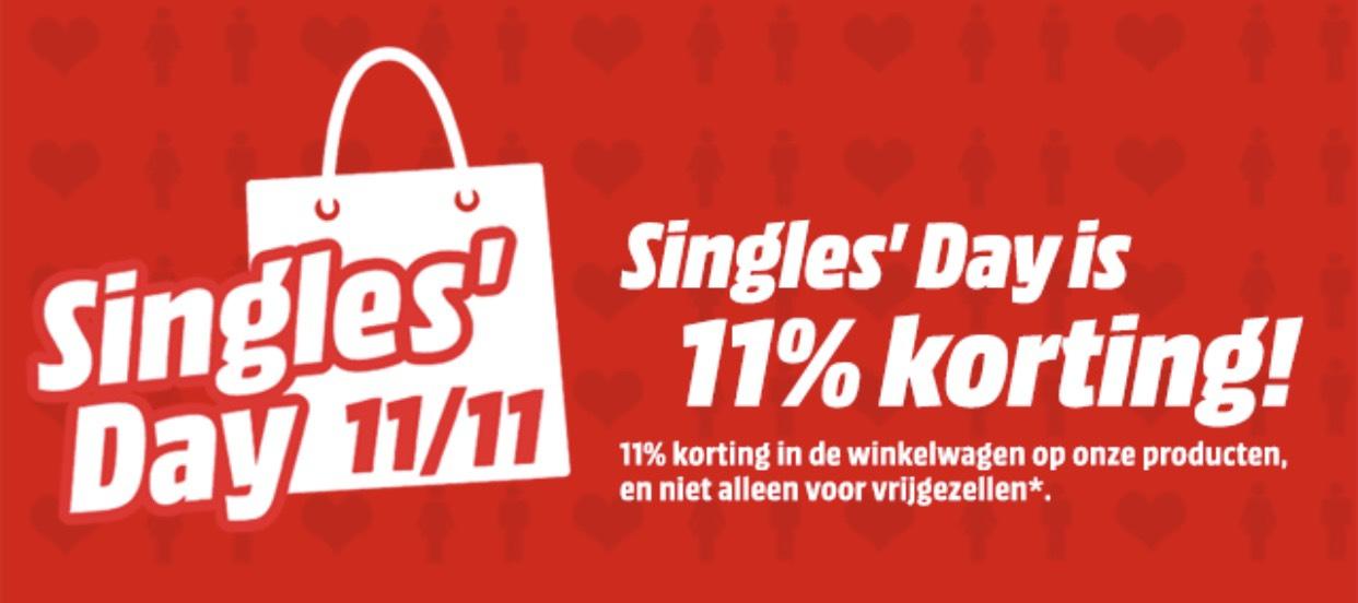 [Singles Day] [BE] 11% korting Media Markt