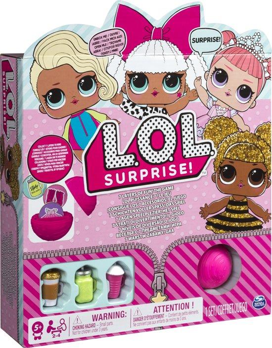 L.O.L. Surprise bordspel - vr/za/zo 25% extra = €9,74 @ Kruidvat