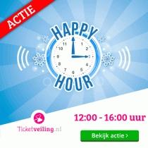 Geen administratiekosten à €5 @ Ticketveiling.nl