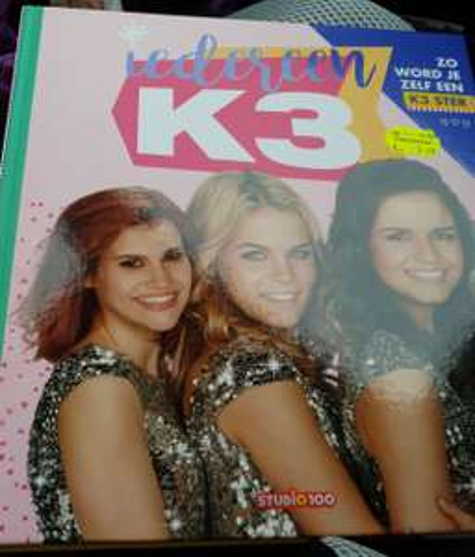 k3 boek hoe word ik een ster
