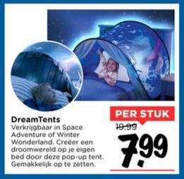 DreamTents - Space Adventure of Winter Wonderland - €7,99 @ Vomar