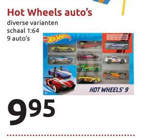 Hot Wheels 9 pack Action