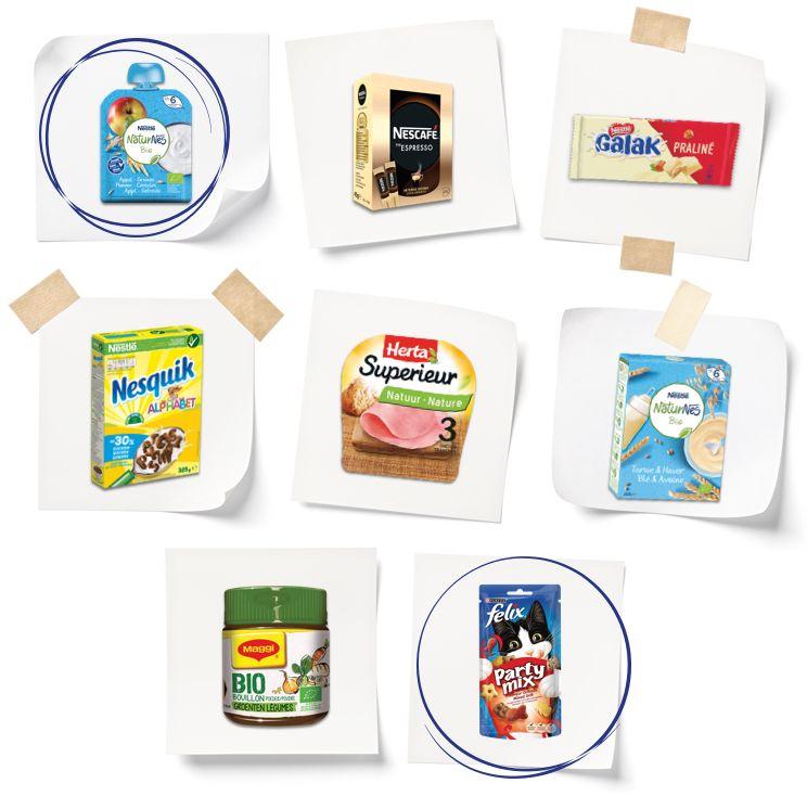 [Grensdeal België] Gratis twee Nestlé producten