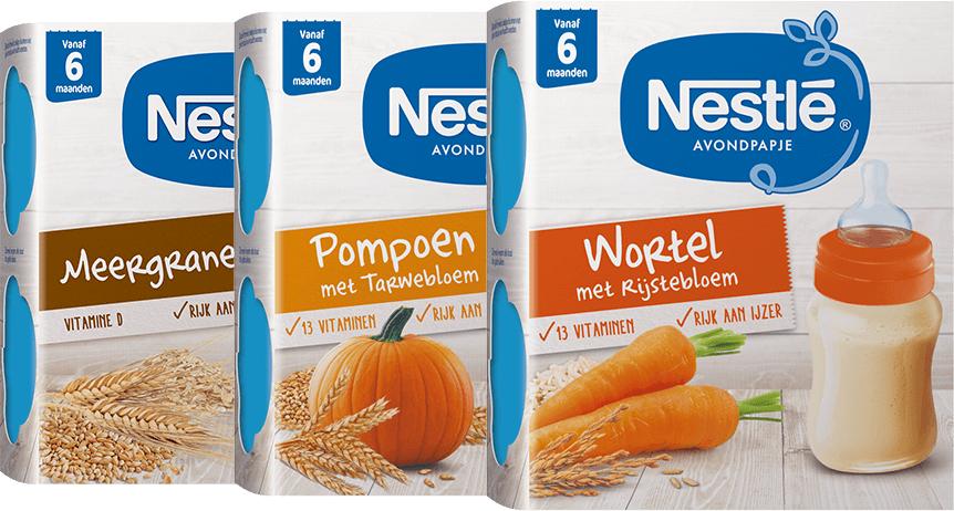 Gratis Nestlé avondpapje via online Scoupy