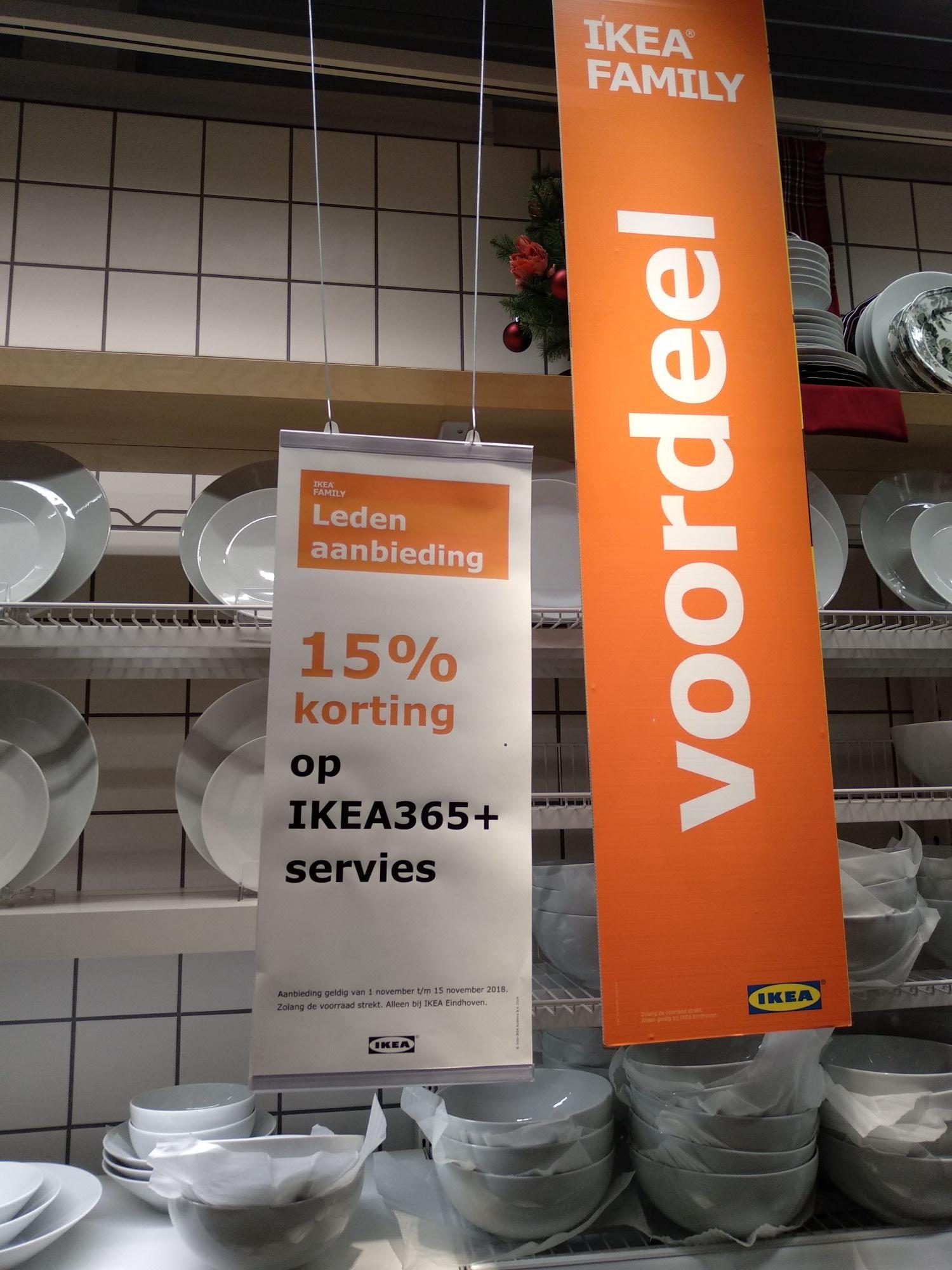 15% korting op IKEA 365+ servies @ IKEA Eindhoven