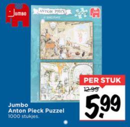 Jumbo Anton Pieck puzzel (1.000 stukjes) €5,99 [elders va €19] @ Vomar