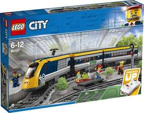 LEGO City Passagierstrein voor €80,74 en treinrails 50% korting @ Bol.com