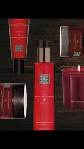 8 X ELLE + Rituals-set The ritual of Ayurveda