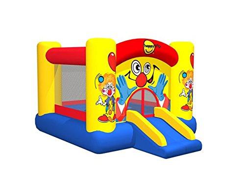 Clown Slide and Hoop Bouncer springkasteel met glijbaan voor €98,64 @ Amazon.de