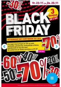 Black Friday 3-daagse @ Aldi