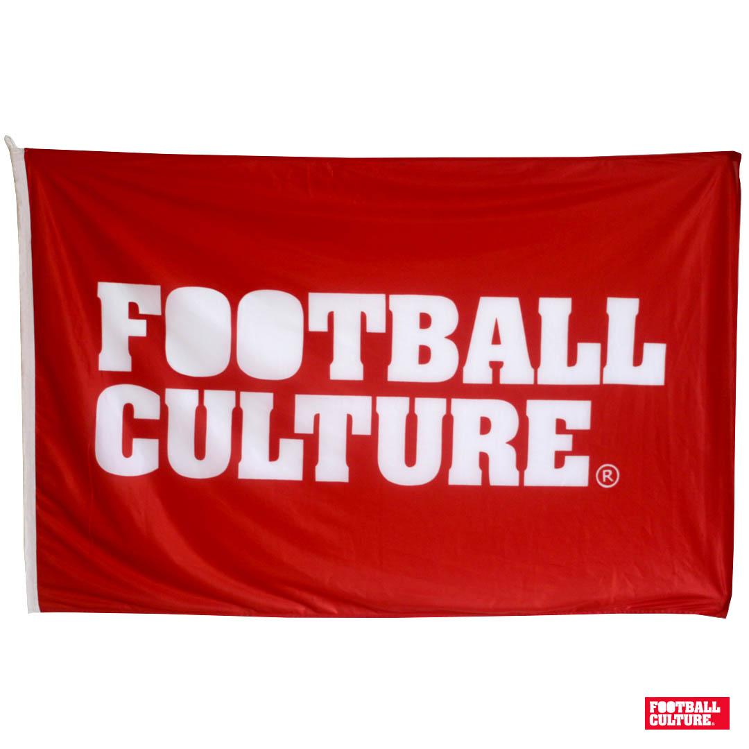 FootballCulture Flag Red van 35 euro voor 20 euro