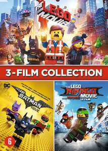 LEGO Movie Collection - 3DVD box