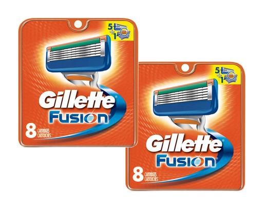 16 Gillette Fusion Navulmesjes @ iBood