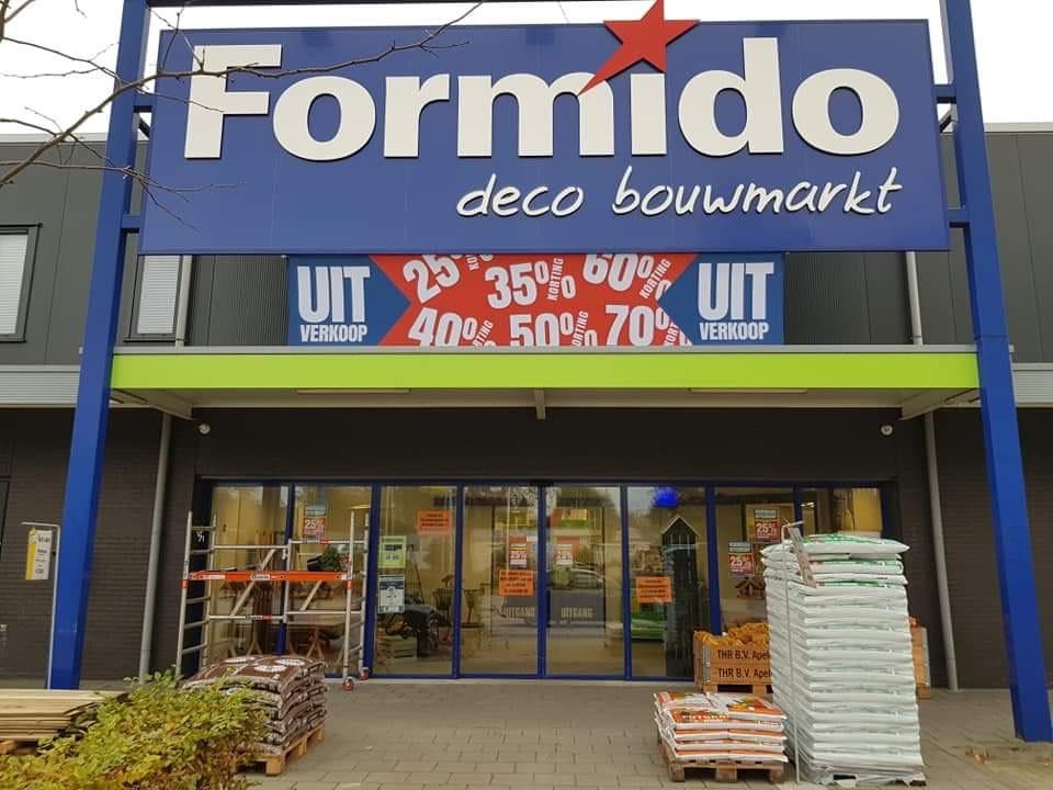 Uitverkoop Formido Sint-Michielsgestel