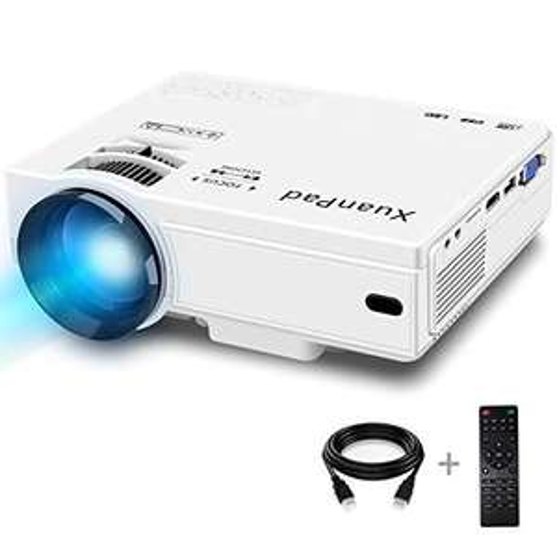 XuanPad Mini-projector 2400 Lumens LCD-projector / beamer (ondersteund max 1080P invoer)