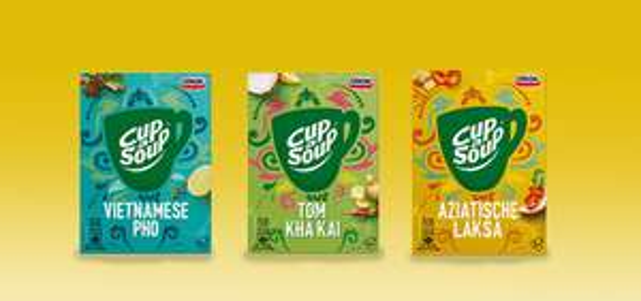 Scoupy  Cup-a-Soup Aziatisch: van €1,29* voor €0 (nu voor iedereen)+ speciaal voor jou McVitie's THINS €0,50