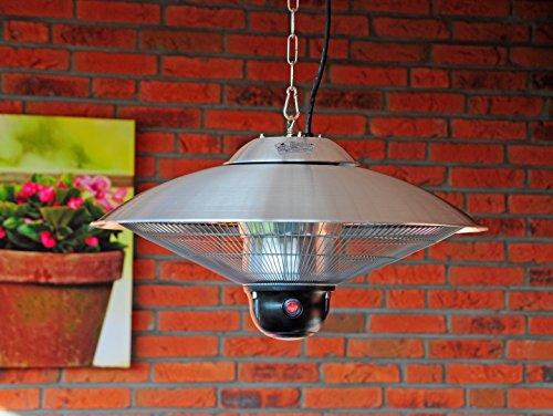 Sunred Partytent heater CE09LGT Golden halogeen hangende infrarood terrasverwarmer D 60 cm